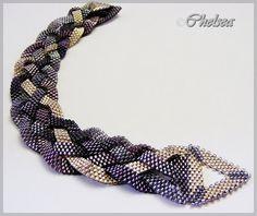 Chelseaspearls: wattle Very pretty! Beaded Braclets, Beaded Jewelry, Jewelry Bracelets, Handmade Jewelry, Jewellery, Beads And Wire, Bracelet Designs, Seed Beads, Bracelets