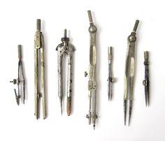 Vintage Drafting Tools