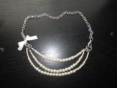 DIY Pearl Jewelry | DIY pearl bead necklace.