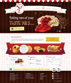 Designed the homepage.   http://www.doughlicious.in/