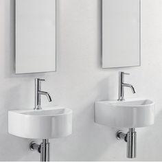 Perfekt lille håndvask til små badeværelser