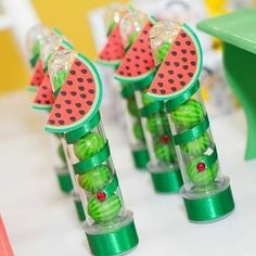 Decoração tema Magali 🍉#personalizadosmagali #festamagali #festamagali🍉 10th Birthday, Flamingo, Watermelon, Diy, Watermelon Birthday Parties, Fruit Party, Tropical Party Decorations, Creative Crafts, Creativity