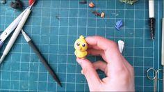 How to make farmville Chick with clay