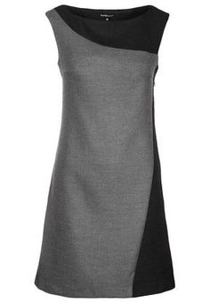 Etuikleid – anthracite DIY The Best of clothes in – Luxe Fashion New Trends – Women's Fashion Dress Outfits, Casual Dresses, Fashion Dresses, Fashion Clothes, Shift Dress Outfit, Style Clothes, Shift Dresses, Dress Clothes For Women, Frack