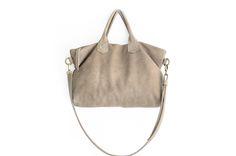 Shoulder bag / Borsa tracolla / borsa in pelle con manici, in morbida pelle nappa italiana / Silvie Shoulder bag di Genuinemyself su Etsy