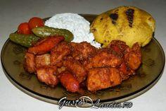tochitura-moldoveneasca Romanian Food, Tandoori Chicken, Ethnic Recipes