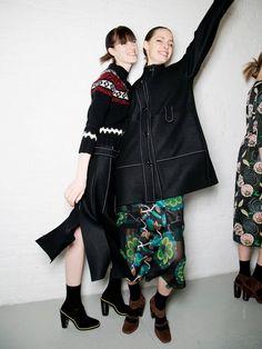 LOL: The Happiest Models at New York Fashion Week via @WhoWhatWear