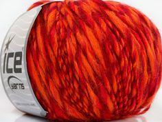 Composition 65% Acrylique 25% Laine 10% Viscose Red Orange Brand ICE Burgundy fnt2-40520
