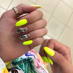 55 long acrylic nail designs extraordinary for all women bes Nails Opi, Neon Nails, Stiletto Nails, Nail Manicure, My Nails, Valentine's Day Nail Designs, Acrylic Nail Designs, Summer Nails Neon, Nail Design Video