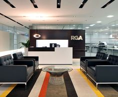 LEMAYMICHAUD; RGA; London; Architecture; Design; Office; Corporate; Lounge; Reception