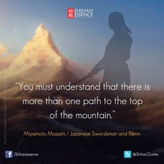 Postoji više puteva do vrha planine