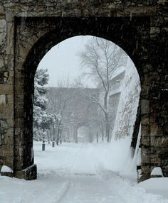 snowy castle in Budapest, photo by Liam Noonan Winter Szenen, I Love Winter, Winter Is Coming, Winter Time, Winter Walk, Winter Magic, I Love Snow, Winter's Tale, Snow And Ice