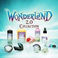 ENTIRE Wonderland 2.0 COLLECTION $73.63 Save 10% off all 10 full-sized Wonderland 2.0 products, when purchased together. Limited Stock.  ALMOST ALICE 2.0, 2-in-1 Liquid Shampoo & Conditioner  EAT ME 2.0 Bar Soap  FUTTERWACKEN 2.0 Exfoliating Body Wash  IT'S ONLY A DREAM 2.0 Fortune Cookie Soap  OFF WITH THEIR HEADS Shower Oil  REFLECTION Spray Lotion  TIME Sugar Scrub  TWISTED TEA PARTY 2.0 Tea Infused Bath Bombs  WE'RE ALL MAD HERE 2.0 Whipped Cream  WHO ARE YOU? 2.0 OCD Hand Sanitizer