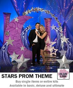 Buy Under the Stars themed decorations for proms, homecoming dances and other party events.  Available by the piece or as kits.  Basic kit starts at $399.00