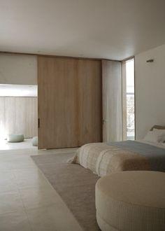neutral bedroom palette
