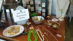 50% off jewelry from Repurposed