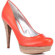 Guess Shoes Adriena 2 - Orange Leather