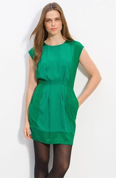 If I come home with another green dress, I will be evicted.