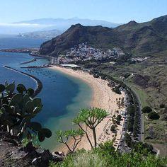 Playa de las Teresitas auf Teneriffa