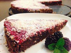 Recept - Cviklový koláč s černicovým sirupom