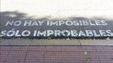 'No hay imposibles, solo improbables', frase del paso de cebra de 'Madrid te comería a versos'