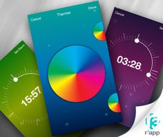 A very #popular App with gorgeous #color theme Only In Apple's App Store. #Download free !!!
