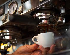 Espresso machine making yummy coffee. Coffee Lovers know this is truly the way to wake up every morning. ~Me +Andy Fisher xo Italian Espresso, Espresso Coffee, Coffee Coffee, Ways To Wake Up, Starbucks Secret Menu, Coffee Culture, Espresso Machine, Homemaking, Mocha