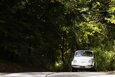 Mark and Sarah's Sligo Wedding Fiat 500 Fiat 500 White, Ireland Wedding, The Other Side, Getting Married, Real Weddings, Classic Cars, Beautiful Pictures, Castle, Car Wedding