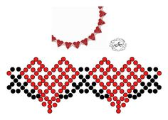 Free pattern for beaded necklace Sami mm cseh csiszolt Diy Necklace Patterns, Beaded Jewelry Patterns, Beading Patterns, Bead Jewellery, Seed Bead Jewelry, Bead Crafts, Jewelry Crafts, Diy Collier, Pony Beads