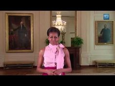 New Virtual Tour of the White House! Online with Google Art Project - Michelle Obama [HD] - YouTube