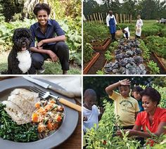 American Grown: Michelle Obama's New Book on the White House Kitchen Garden - Culture - Vogue