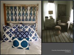 Country Home Master Bedroom-CATSKILLS Global Home, Design Projects, Master Bedroom, Blanket, Interior Design, Country, Master Suite, Nest Design, Home Interior Design