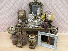 Hey, I found this really awesome Etsy listing at https://www.etsy.com/no-en/listing/277403452/miniature-dollhouse-vintage-room-kit-set