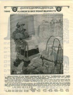 1928 ADVERTISEMENT Hudson's Bay Point Blanket Deer Image Snow Shoe Image Hudson Bay Blanket, Bay Point, Shoe Image, Candy Stripes, Color Themes, Deer, Vintage World Maps, Old Things, Snow