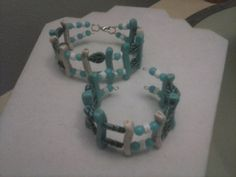 turquoise memory wire bracelets