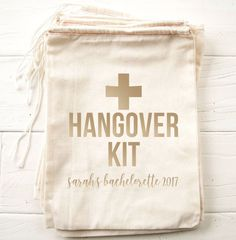 Bridal and Bachelorette Boutique. Offering custom bridal apparel and bachelorette acessories, Including shirts, champagne flutes, tote bags, and more! Bachelorette Hangover Kit, Bachelorette Outfits, Vegas Bachelorette, Bachelorette Party Decorations, Hangover Kit Bags, Bridesmaid Duties, Bridesmaids, Emergency Bag, Party Kit