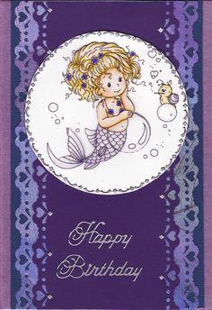 3D Little Mermaid Birthday Card