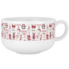 Christmas Holiday Jumbo Soup Mug - Xmas ChristmasEve Christmas Eve Christmas merry xmas family kids gifts holidays Santa