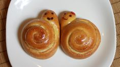 How to bake Sweet Snail Bread step by step DIY tutorial instructions, How to, how to make, step by step, picture tutorials, diy instructions, craft, do it yourself