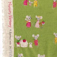 heatherross - blog - Inroducing Nursery Versery, my newest fabriccollection