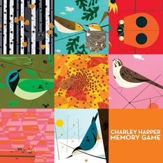 Charley Harper memory game @ MCA Store :: Museum of Contemporary Art, Chicago