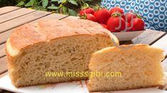 KOLAY EKMEK YAPIMI - MisssGibi Yemek Tarifleri Bread, Food, Brot, Essen, Baking, Meals, Breads, Buns, Yemek