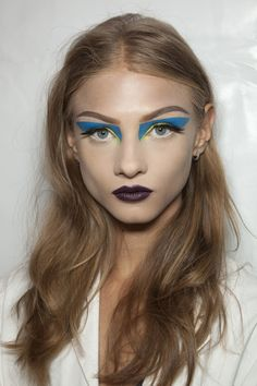 Anna Selezneva Backstage at Christian Dior Haute Couture Fall 2010