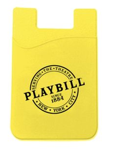 Our Playbill silicon phone wallet is a fan favorite (BroadwayCon debut) and an excellent gift to carry a business cards, ID, or even your MTA card. Adheres to the back of your phone or phone case. Phone Wallet, Phone Cases, Musical Theatre, Cosplay Ideas, Business Cards, Theater, Broadway, Fan, Christmas