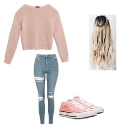 """Untitled #359"" by austynh on Polyvore featuring Max&Co., Topshop and Converse"