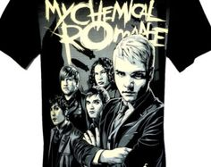 My Chemical Romance Rock Band Music Heavy Metal Guitar T Shirt Size M L New