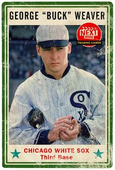 """John Cusack in Eight Men Out as George """"Buck"""" Weaver.  Next Movie Trading Cards."""