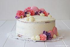 Vanilla Naked Cake with Mascarpone and Raspberries / Vanilkový dort s mascarpone a malinami Cupcake Cakes, Cupcakes, Vanilla Cake, Raspberry, Yummy Food, Desserts, Naked, Blog, Mascarpone