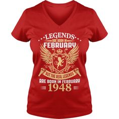 Legends Are Born In February 1948 T-Shirt_1 #gift #ideas #Popular #Everything #Videos #Shop #Animals #pets #Architecture #Art #Cars #motorcycles #Celebrities #DIY #crafts #Design #Education #Entertainment #Food #drink #Gardening #Geek #Hair #beauty #Health #fitness #History #Holidays #events #Home decor #Humor #Illustrations #posters #Kids #parenting #Men #Outdoors #Photography #Products #Quotes #Science #nature #Sports #Tattoos #Technology #Travel #Weddings #Women