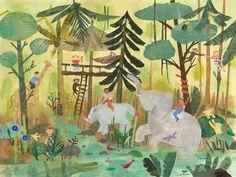 Safari Swing Canvas Art